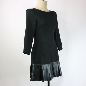 Zara Long Sleeve Black Dress